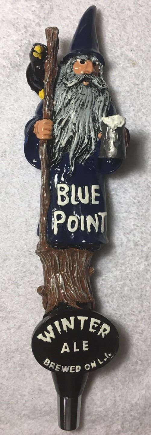 Rare Blue Point Winter Ale Beer Tap Handle