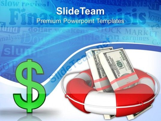 Finance Crisis Powerpoint Templates And Themes Business Model