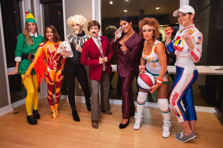 Funny Pop Culture-Inspired Halloween Costumes For Groups Pop - cool group halloween costume ideas