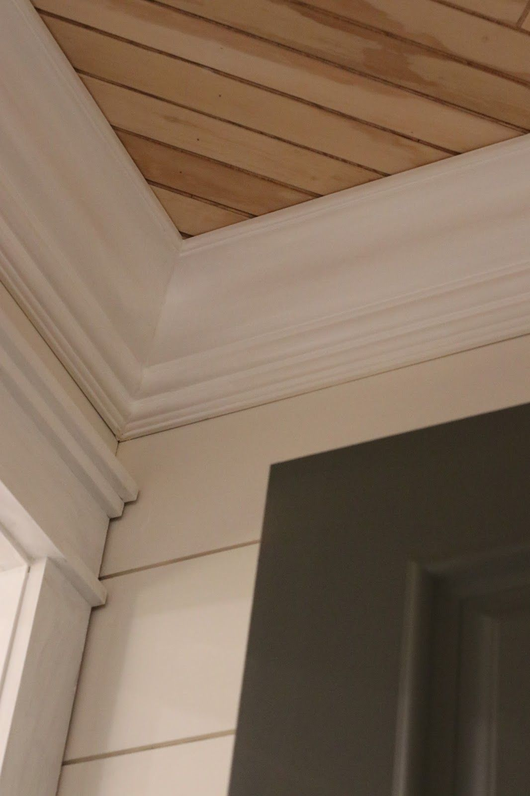 We Covered The Whole Space In Shiplap And Painted It All A Creamy