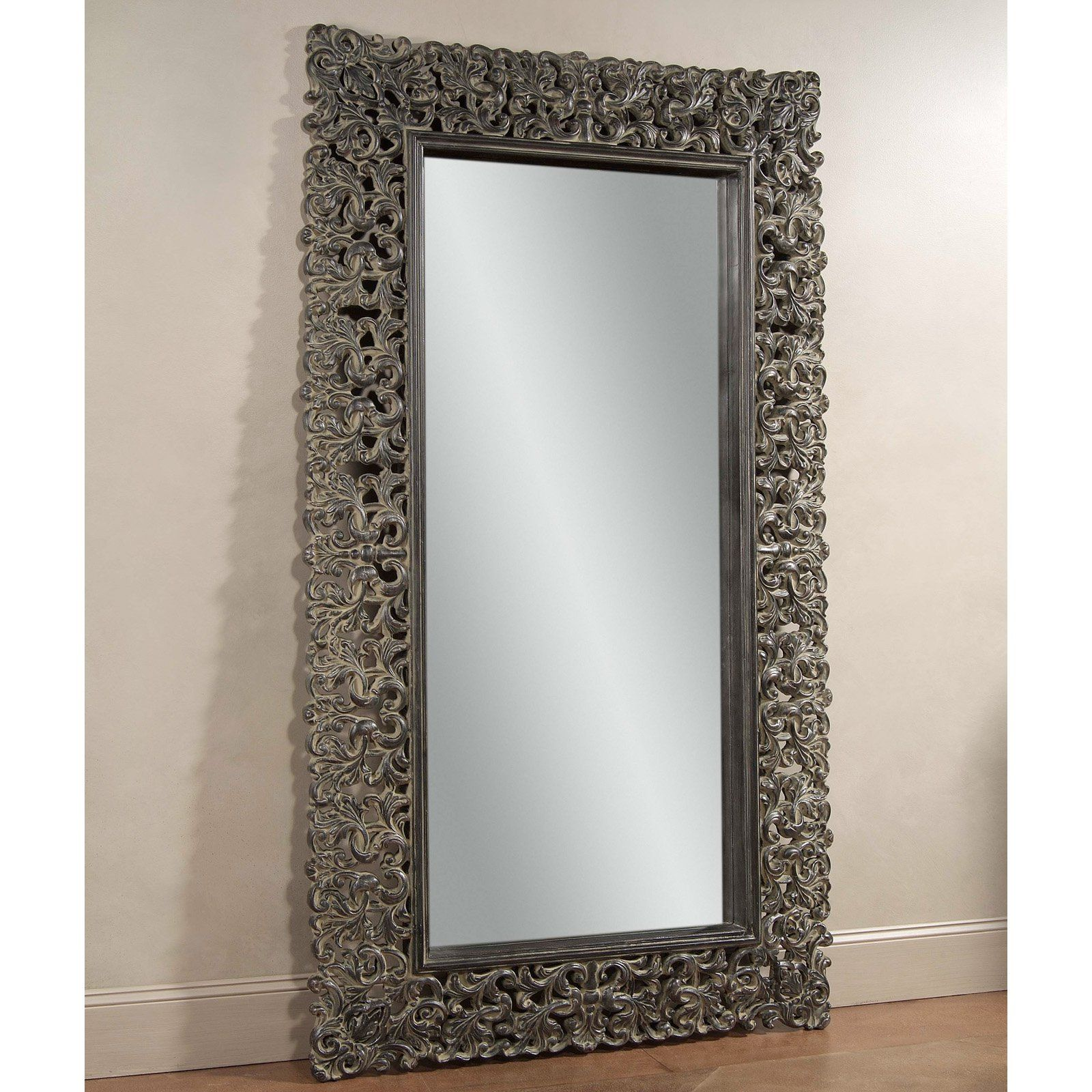 Maltese Leaner Mirror 48w X 87h In Item Hn Bam252 from High
