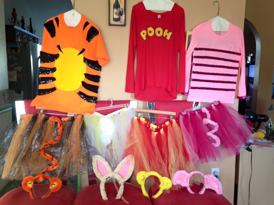 Winnie The Pooh Costumes That I Made Piglet Halloween