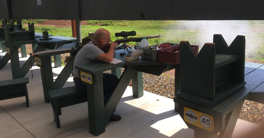 Pin On Rifle Range