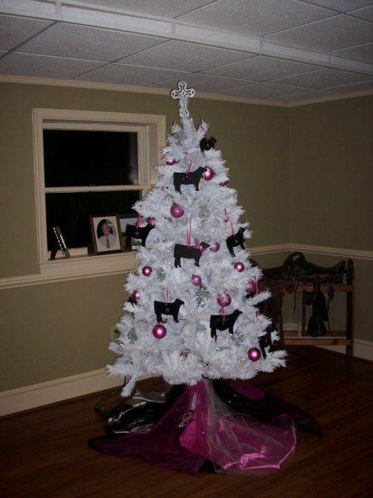Pin by Jill Hockemeyer on Show cattle Pinterest Christmas tree