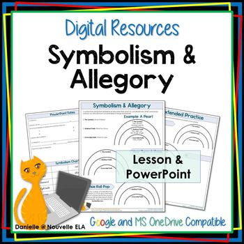 Symbolism And Allegory Digital Resource Digital And Students