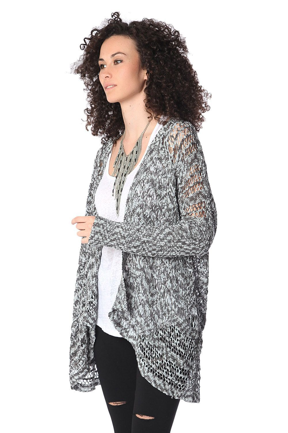 "Get 10% off your entire order - Use Code ""Save10""   Gray waterfall ca... Shop Now http://www.homegoodsgalore.com/products/grey-cardigan?utm_campaign=social_autopilot&utm_source=pin&utm_medium=pin"