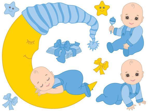 Baby Boy Clipart Digital Vector Baby Boy Blue Infant Etsy In 2021 Baby Boy Scrapbook Baby Clip Art Clip Art