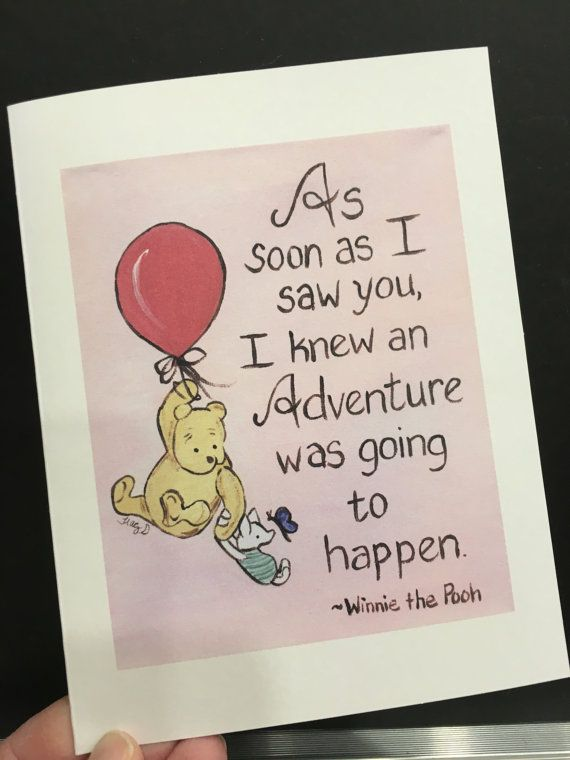 Love card adventure winnie the pooh classic pooh greeting card pooh love card adventure winnie the pooh classic pooh greeting card pooh i love you baby reveal new mom to be baby announcement bff best friend white envelopes m4hsunfo