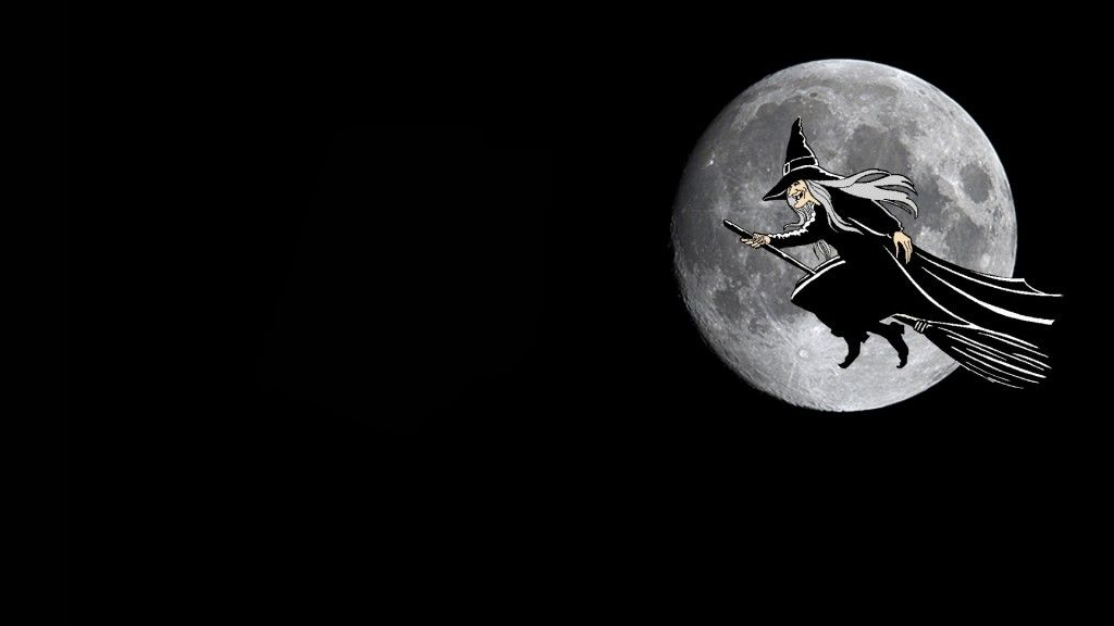 Witch Wallpaper For Halloween Halloween Desktop Wallpaper