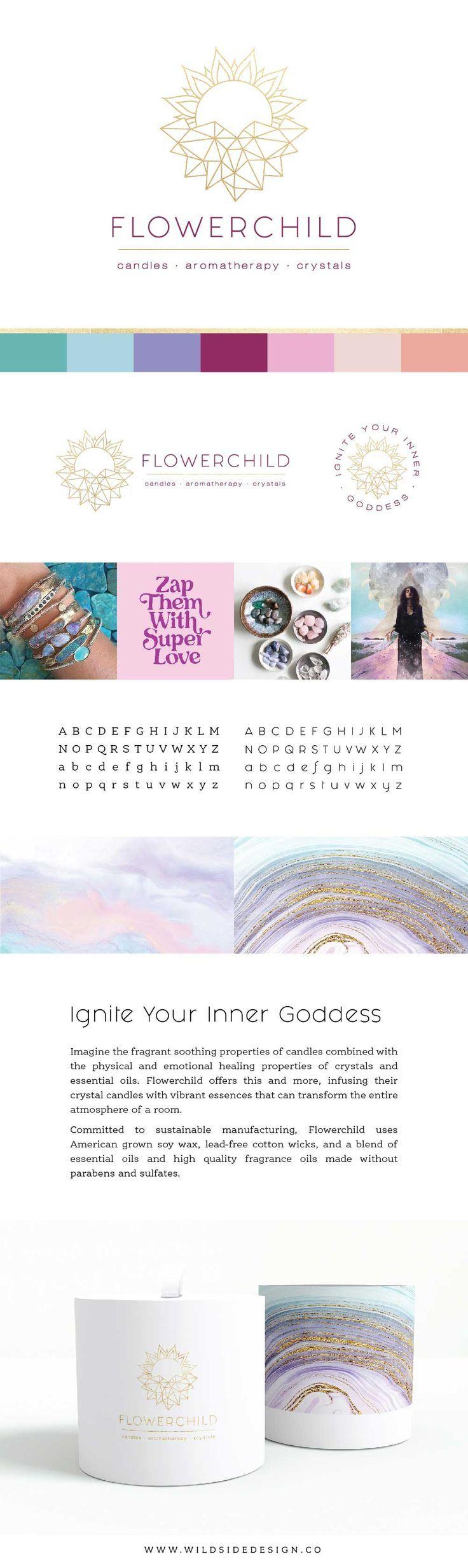 magical color palette light rainbow Website design