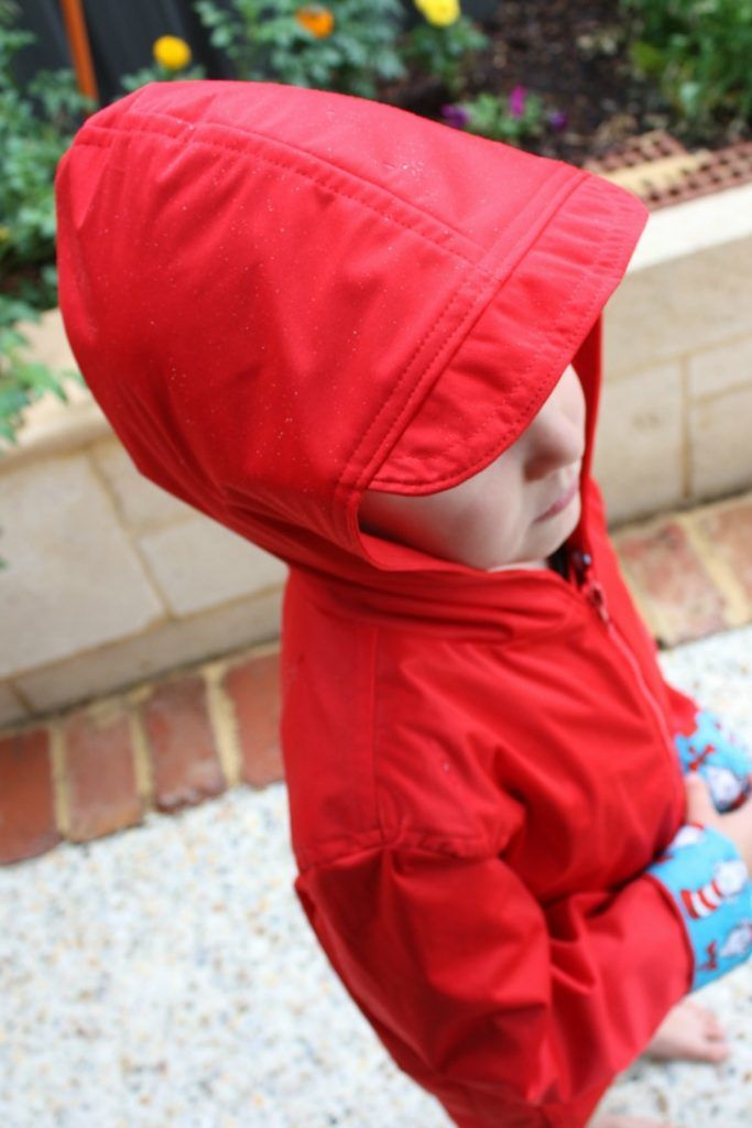 Spring Showers Rain Jacket | The perfect rain coat for little boys who run and jump in muddy puddles!