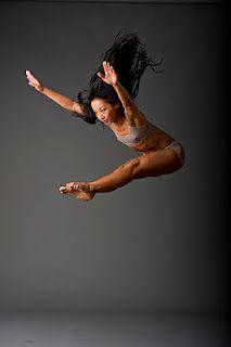 ダンサーの体はすごい