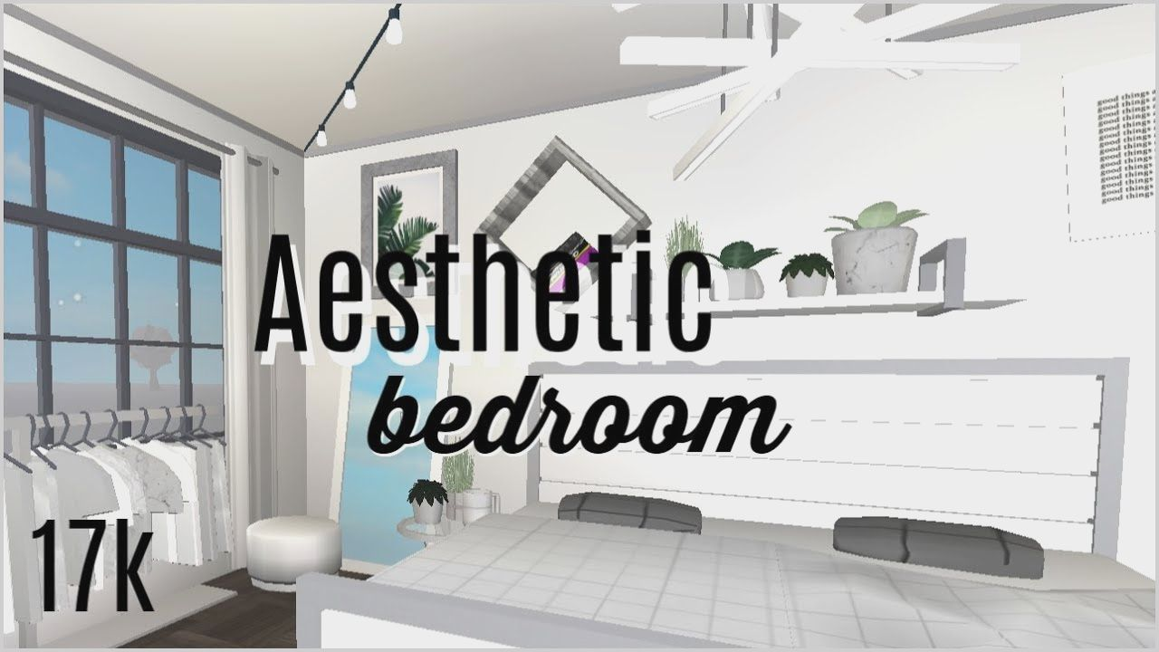 Roblox Bloxburg White Aesthetic Bedroom 17k Youtube Guest Bedrooms Aesthetic Bedroom Cheap Bedroom Ideas