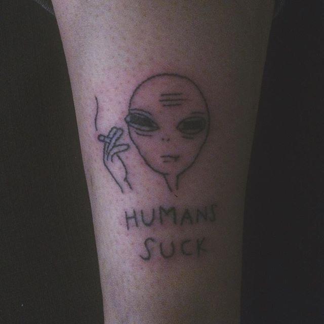 Minimalist Raven Tattoo: New Tattoo For The Lovely @flightless__raven #tattoo