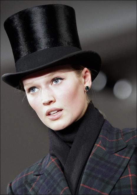 2c32d229f6f Ralph Lauren Top Hat Fall 2012... Gorgeous!