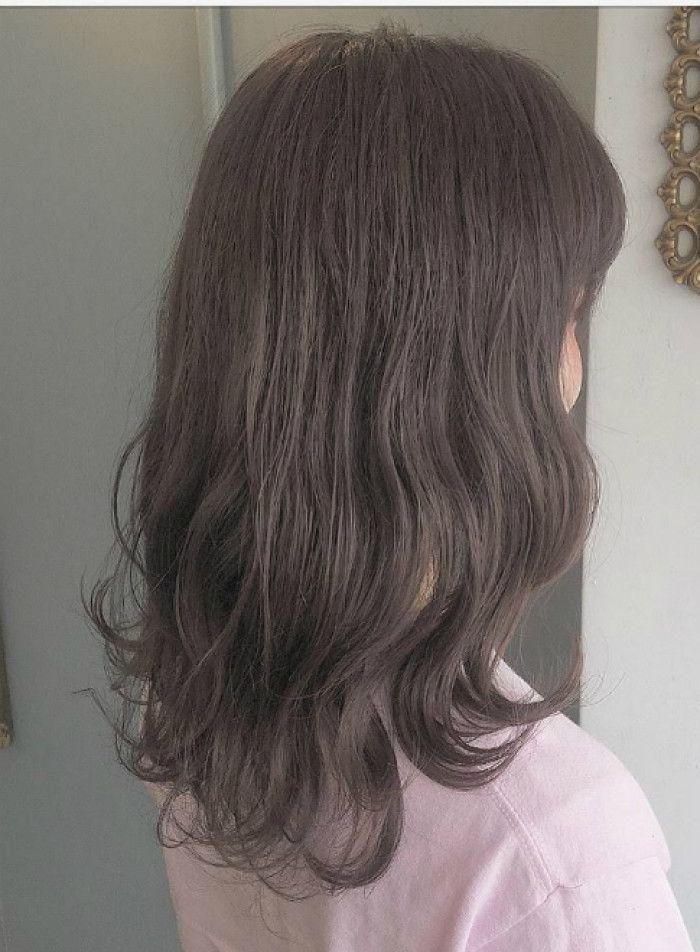 ラベンダーアッシュ 髪型 ヘアスタイル ヘアカタログ ビューティー