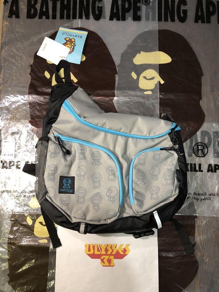 5b31a2d072 A BATHING APE BABY MILO x Coleman x Sanrio Shoulder Messenger Bag  Sanrio   MessengerShoulderBag