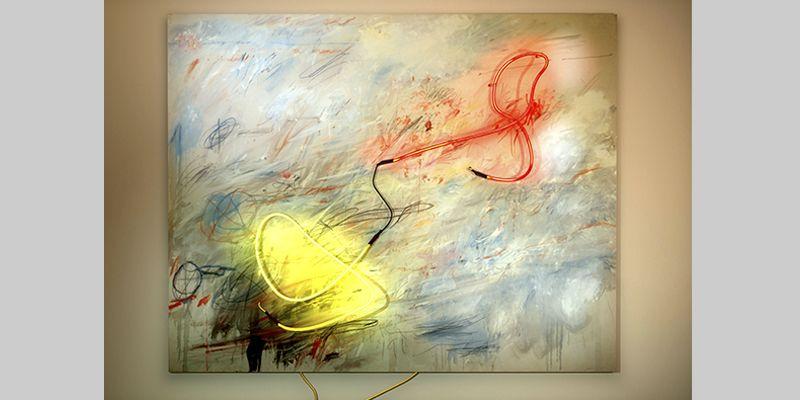 DELETREANDO A CY TWOMBLY. YENY CASANUEVA Y ALEJANDRO GONZALEZ. PROYECTO PROCESUAL ART