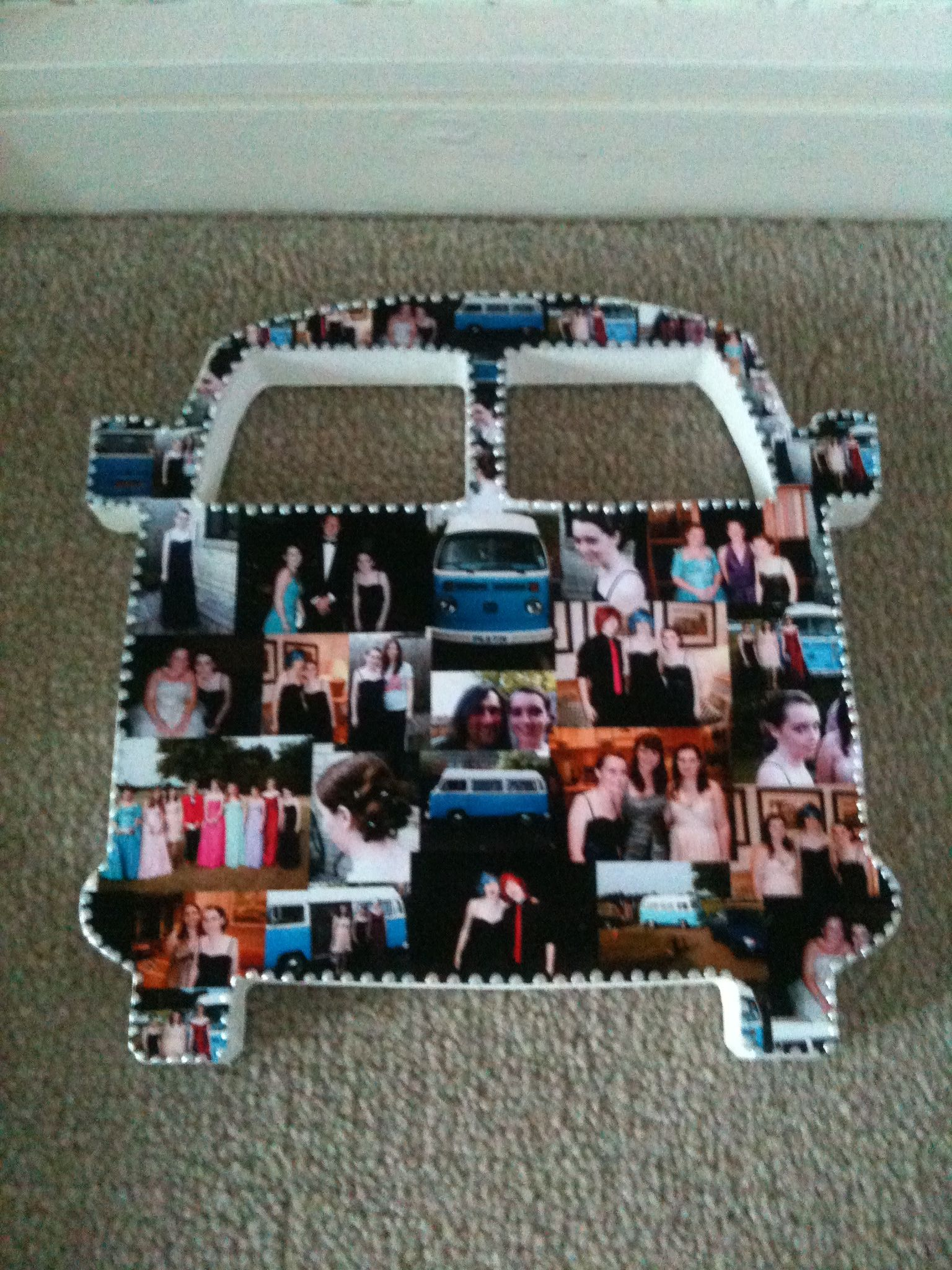 Love this the transport I went to prom filled with memories/ photos of prom:')