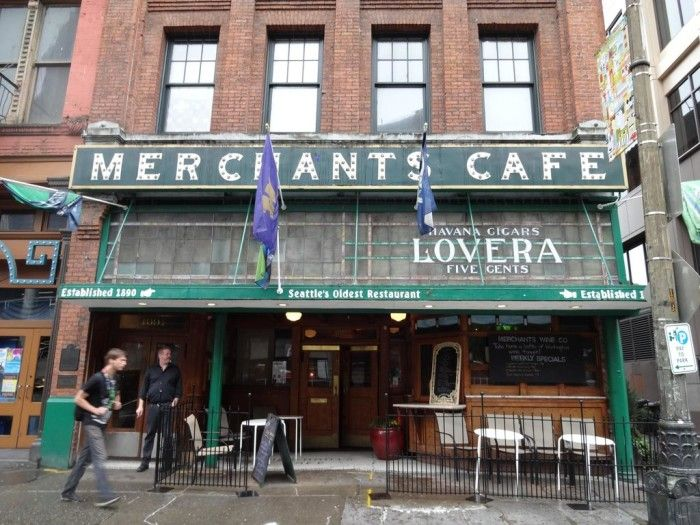 Merchant S Cafe And Saloon Seattle Pioneer Square These 12 Old Restaurants In Washington Have Stood The Test Of Time