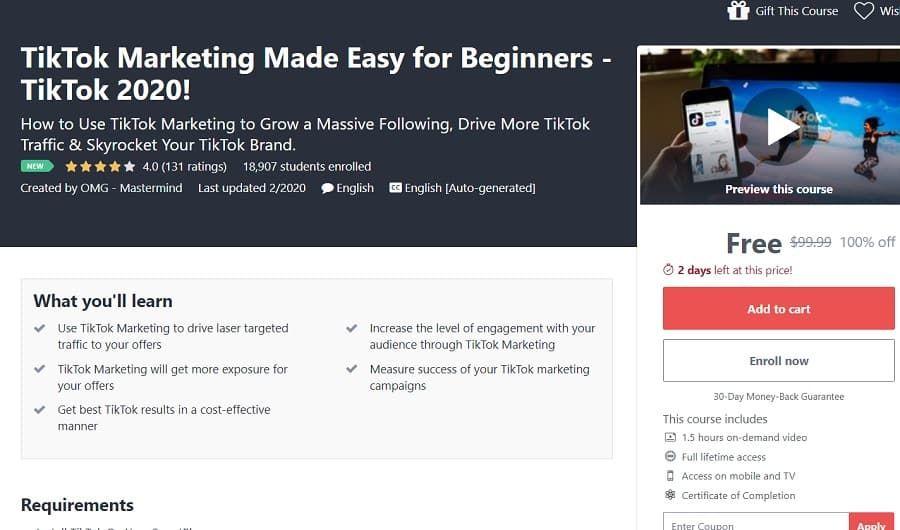 Tiktok Marketing Made Easy For Beginners Tiktok 2020 Make It Simple Beginners Marketing