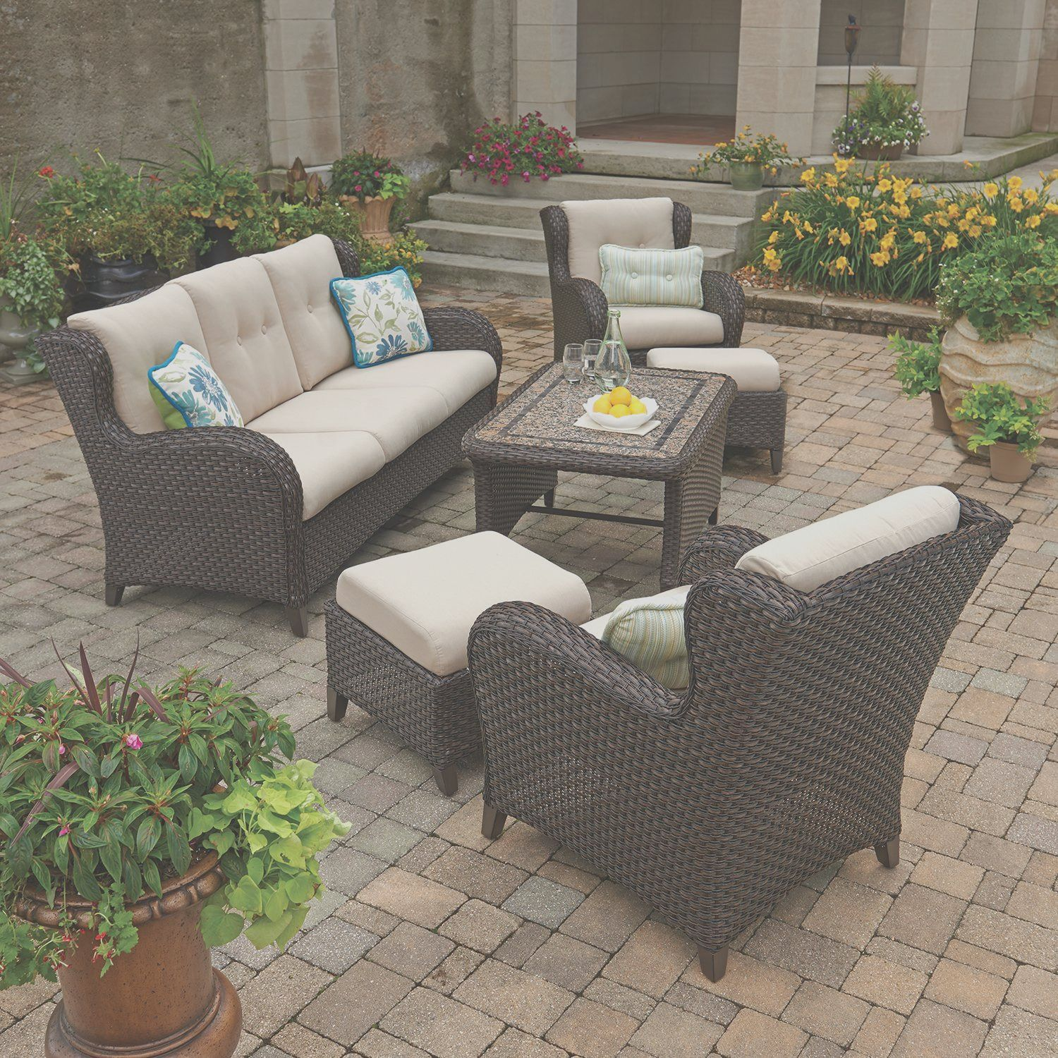 46 Best Patio Furniture Sets For A Magical Outdoor Space In 2021 Ohana Patio Furniture Inexpensive Patio Furniture Patio Furniture Sets