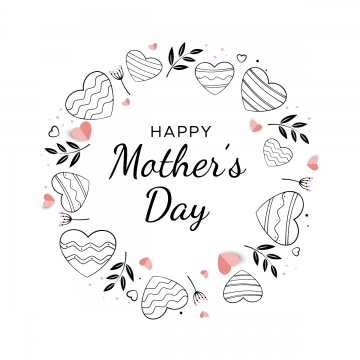 Mother Typography Mom Card Greeting Holiday Love Illustration Happy Lettering Gift Abstract Mothers Day Card Template Happy Mother S Day Card Mothers Day Cards