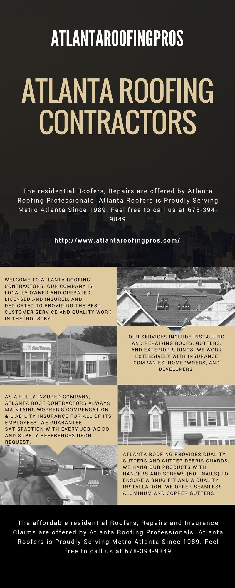 The Residential Roofers Repairs Are Offered By Atlanta Roofing Professionals Atlanta Roofers Is Proudly Serving Roofing Contractors Roofing Companies Roofing