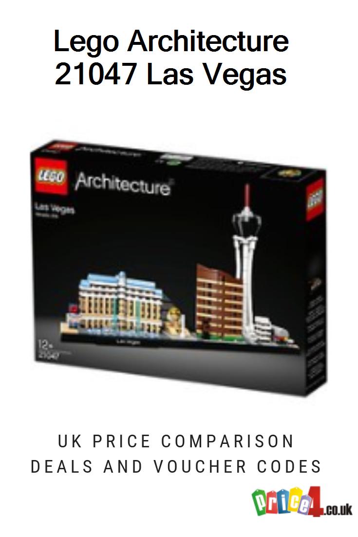 Lego Architecture 21047 Las Vegas Uk Prices Lego Uk 21047 Architecture Las Vegas Skyline Building Kit Collectibl Lego Architecture Las Vegas Lego