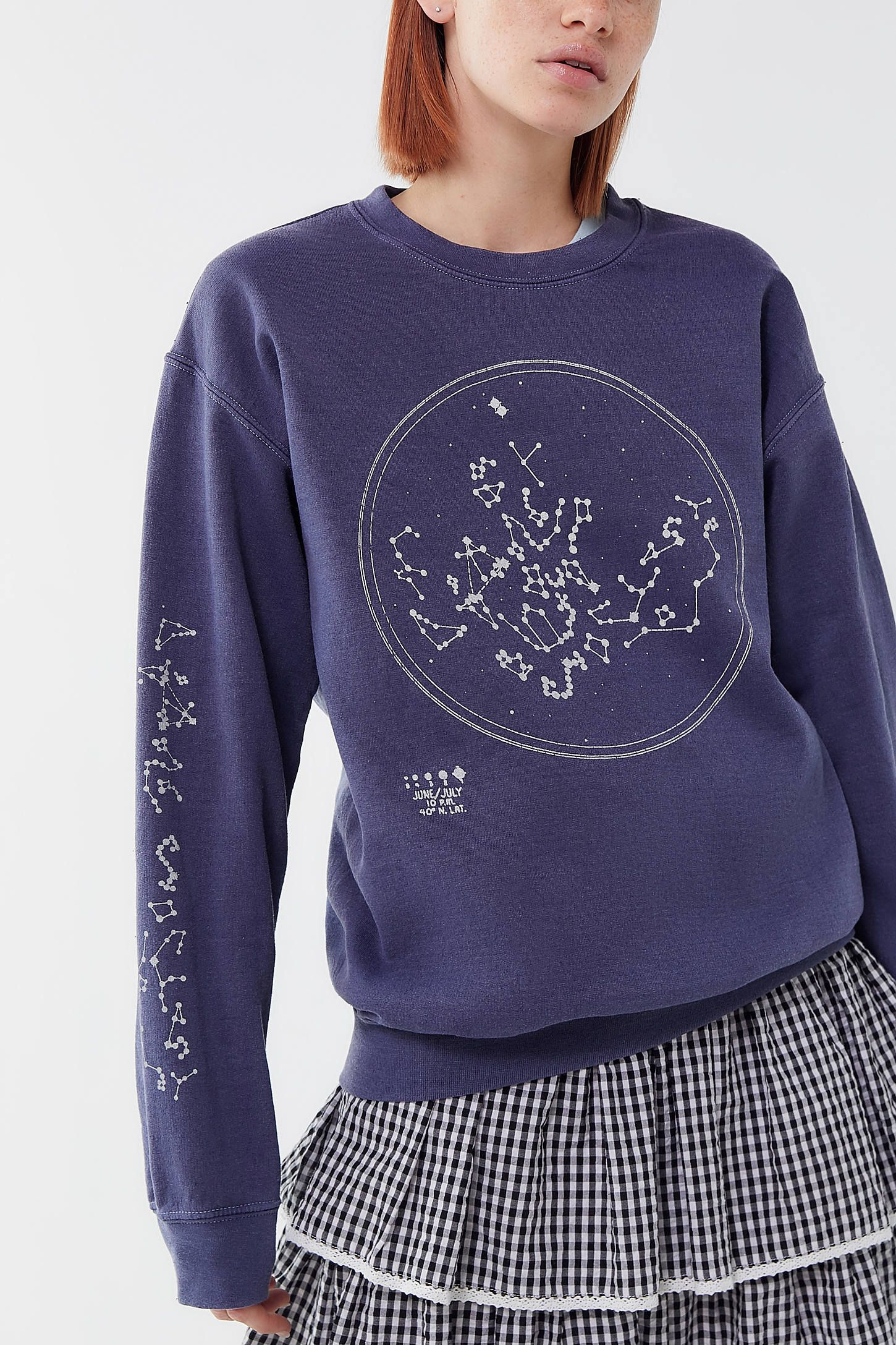 Project Social T Constellation Pullover Sweatshirt Urban Outfitters Sweatshirts Clothes Project Social T