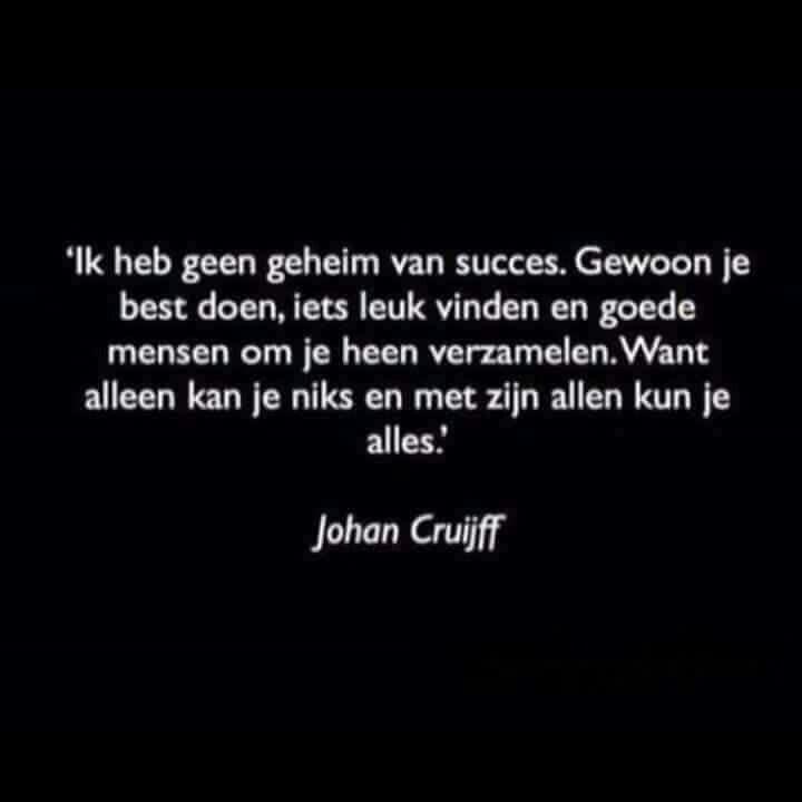 Citaten Samenwerken Togel : Johan cruijff nederlandse dutch quotes pinterest
