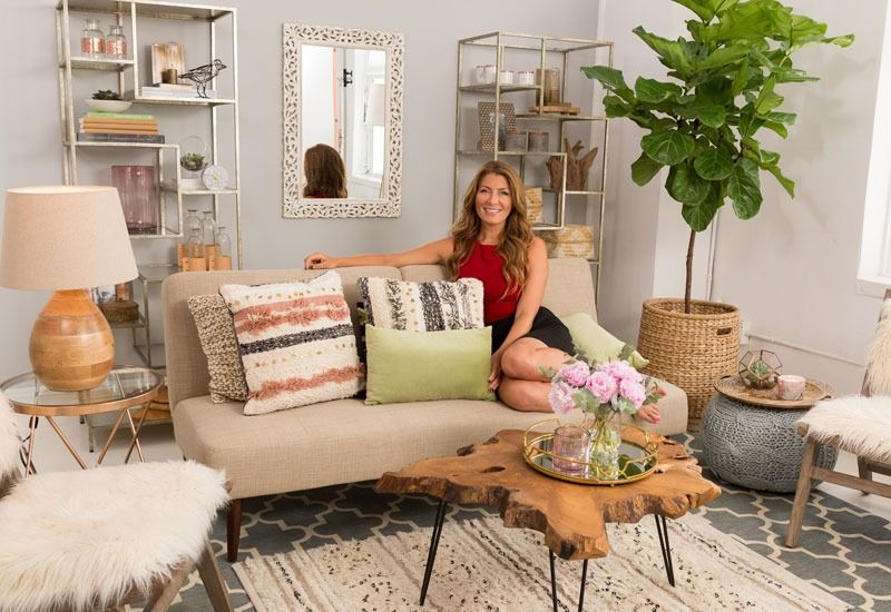 Celebrity Interior Designer And Television Host Genevieve Gorder