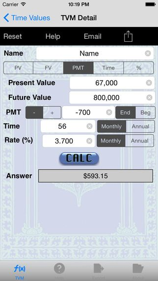 Tvm Time Value Of Money Financial Calculator By Verosocial Studio