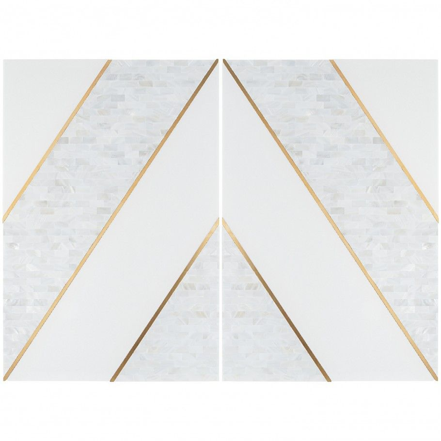 Timeless Perla Brass 12x18 Polished Tile By Elizabeth Sutton In 2020 Marble Look Tile Commercial Flooring Outdoor Flooring