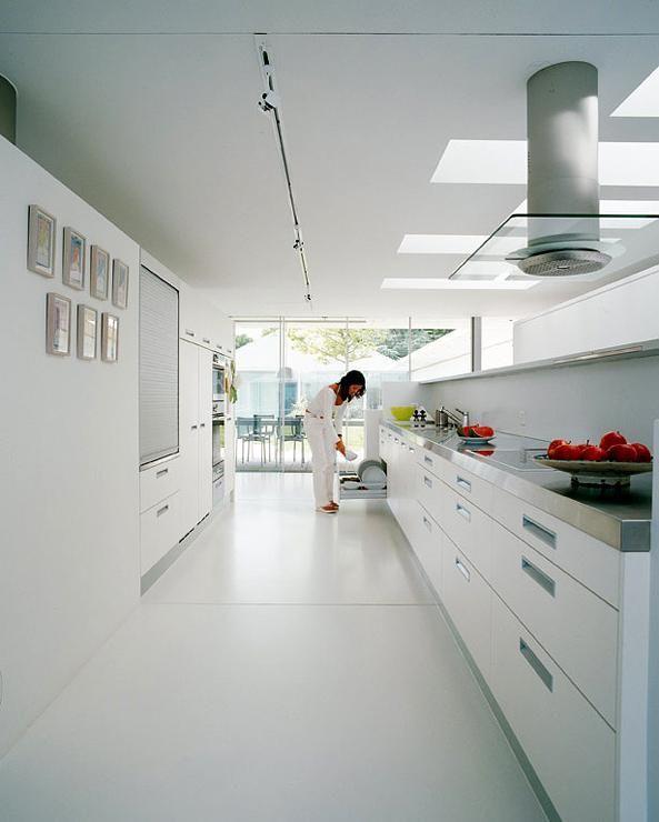 Rote Braune Küche Groß Schränke Metall | Einrichtung | Küche | Pinterest |  Braune Küchen, Hochglanz Und Farbig