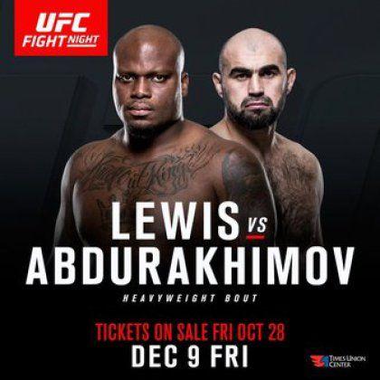 Ufc Fight Night Forecast And Predictions Derrick Lewis Vs Shamil Abdurakhimov Ufc Fight Night Ufc Fight