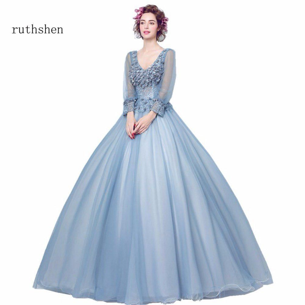 Ruthshen stunning full sleeves quinceanera dresses sweet
