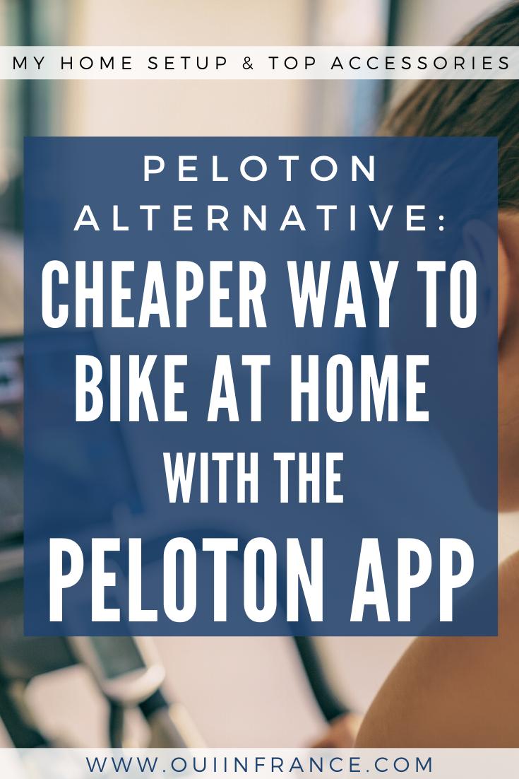 Peloton Alternative A Cheaper Way To Bike At Home With The App Peloton Biking Workout Peloton Bike