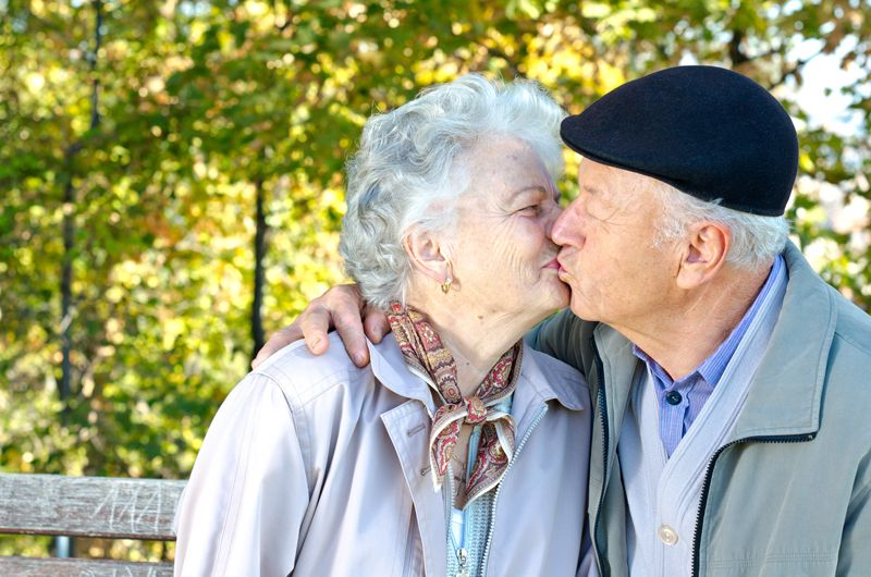 The Kissing Challenge For Married Couples