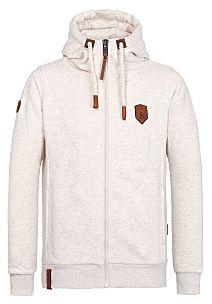naketano Birol VI Hooded Sweatshirt for Men KhakiBeige
