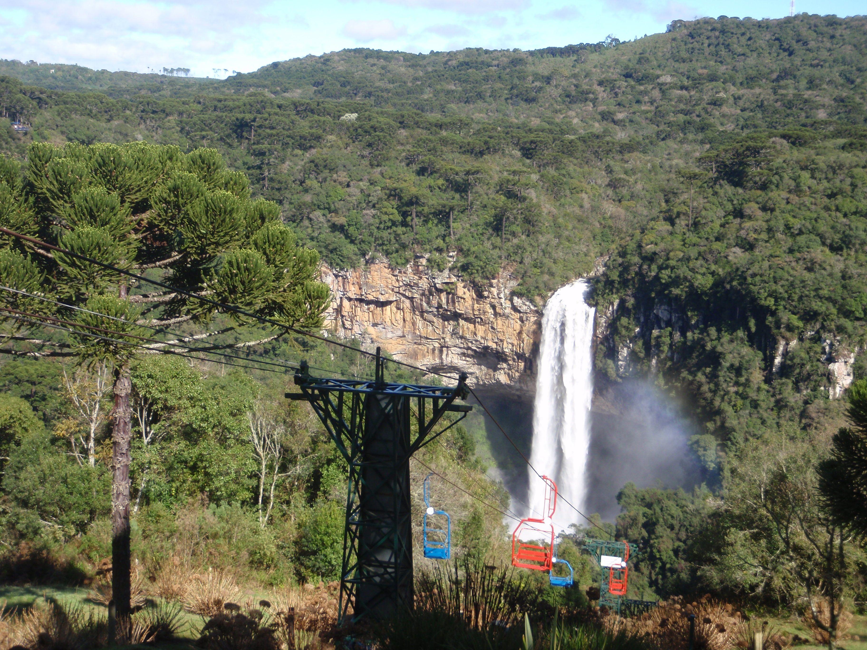 Cachoeira do caracol, canela