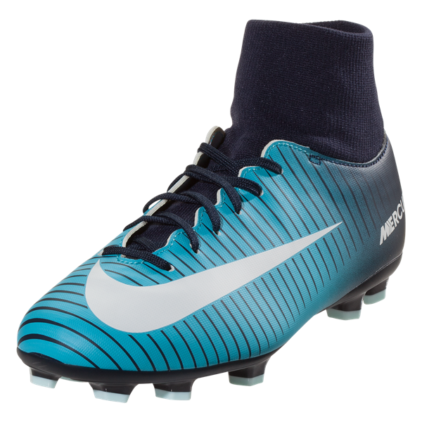10ac521c0 Nike Junior Mercurial Victory VI DF FG Kids Soccer Cleat