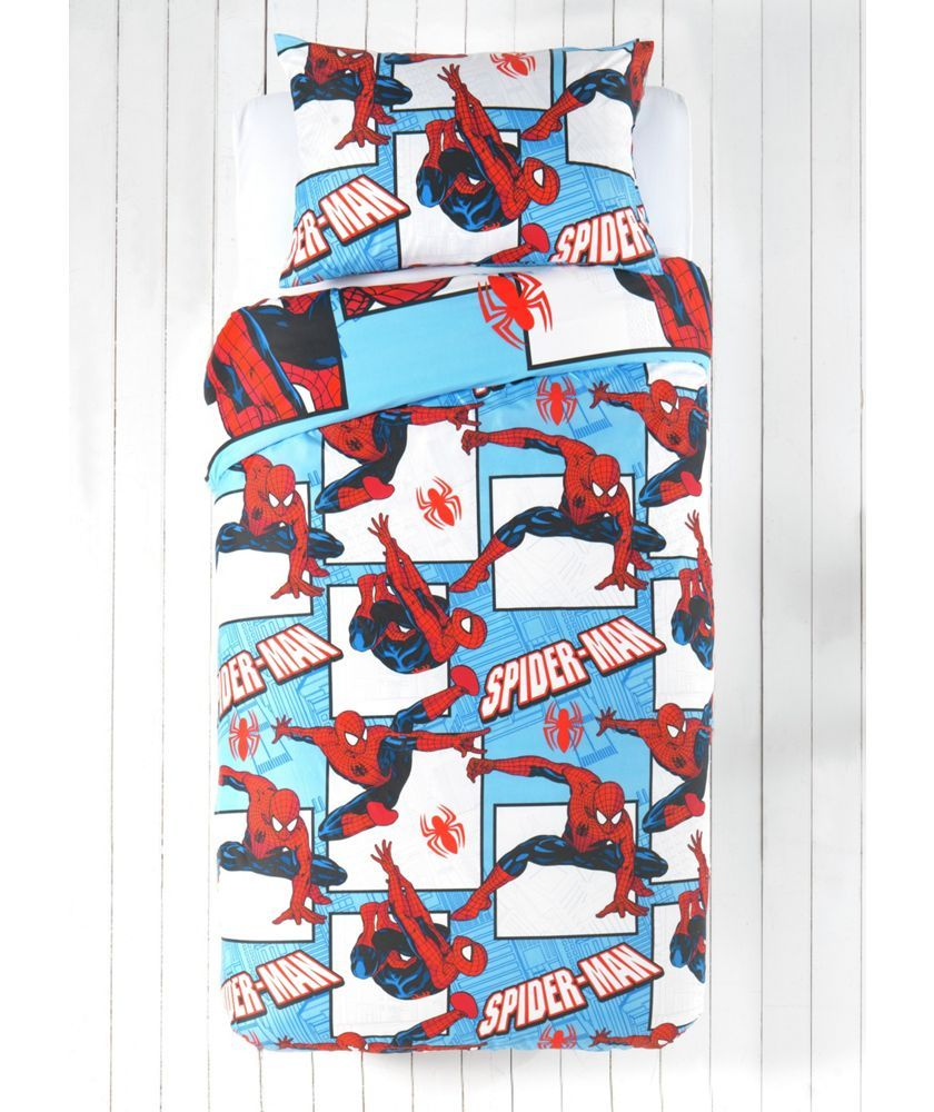 Buy Spiderman Parker Rotary Children's Bedding Set - Single at Argos.co.uk - Your Online Shop for Children's bedding sets.