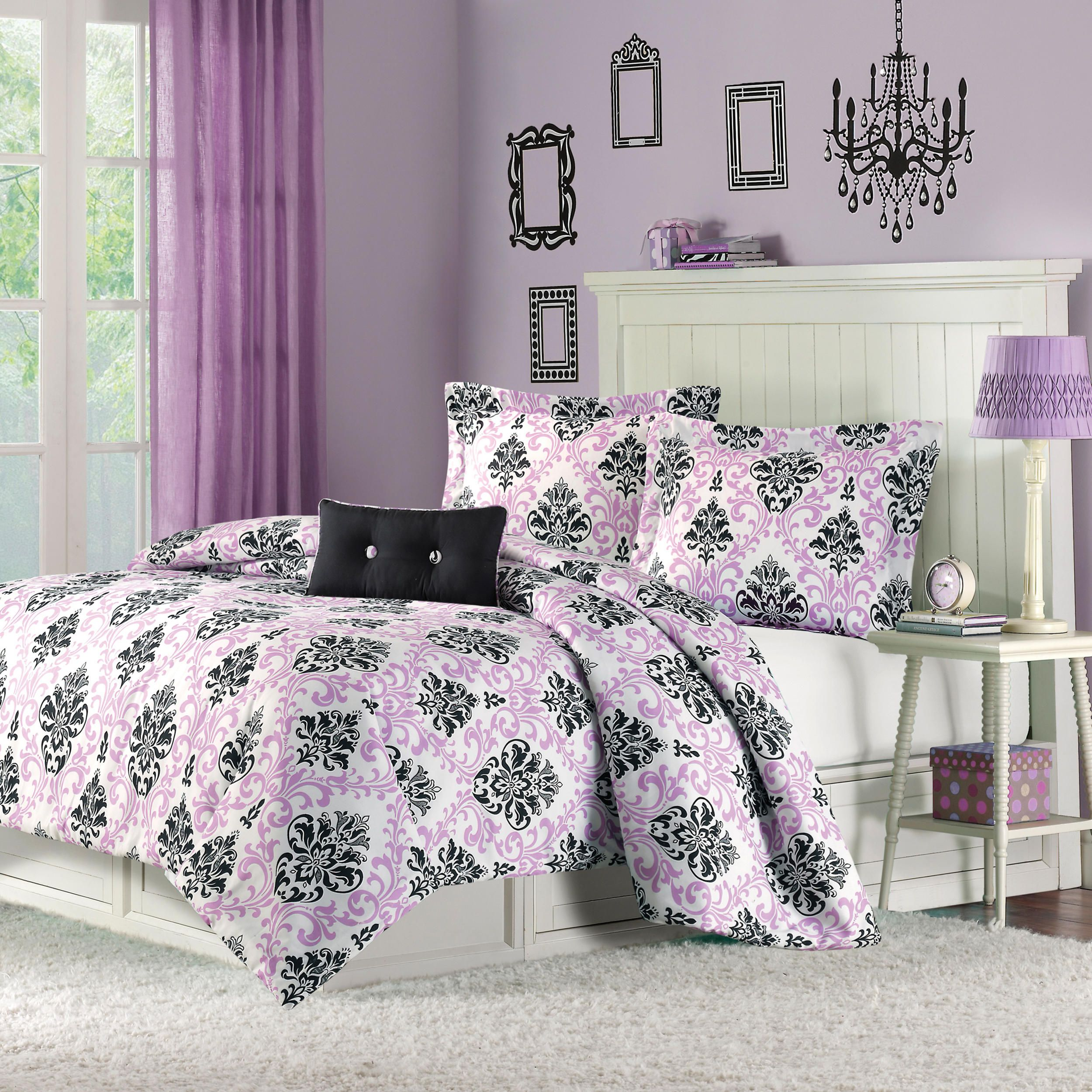 """Three piece Megan forter set includes one 66""""x90"""" twin forter"""