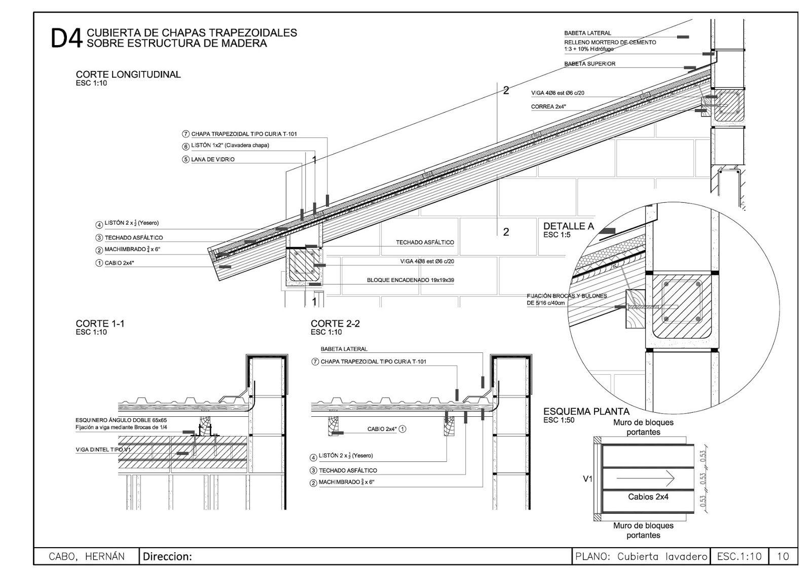 Detalle cubierta metalica con estructura de madera 1600 1132 detalle techo madera - Estructura metalica cubierta ...