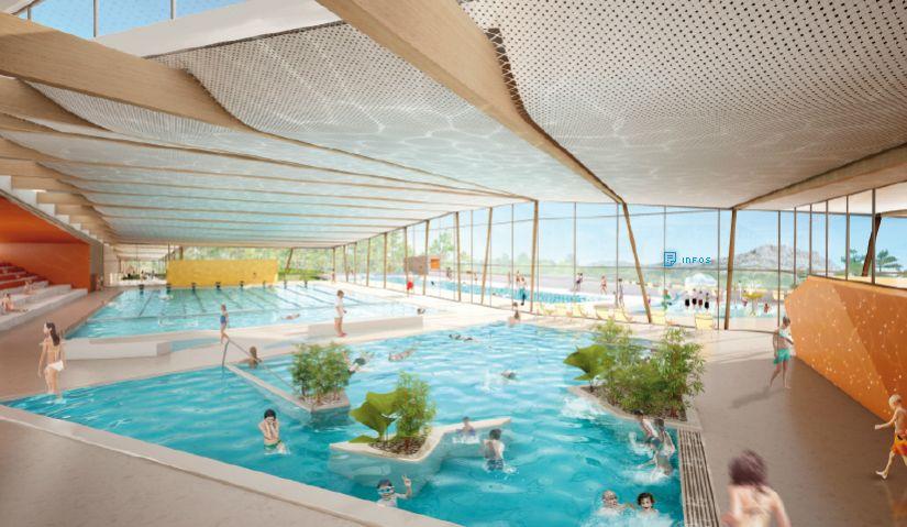 Nouveau Centre Aquatique Pour L Aggomeration Aixoise Situe A