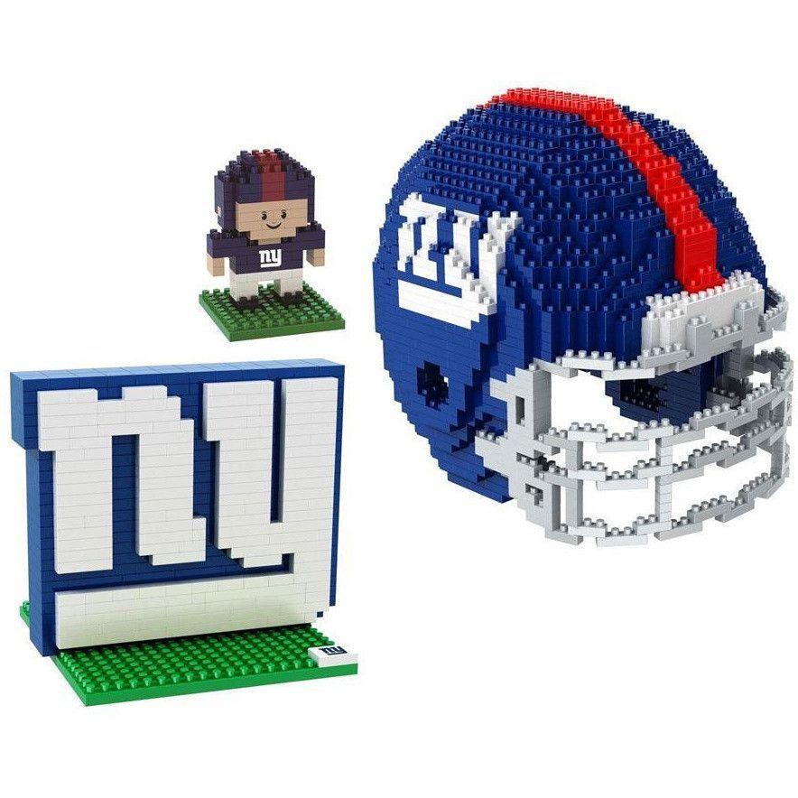 998d136cd6a New York Giants NFL 3D BRXLZ Puzzle Collector s Set