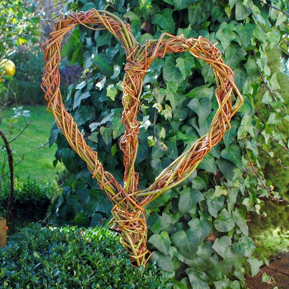 Gartendeko Blog Weidendeko Garten Pinterest Garten Deko