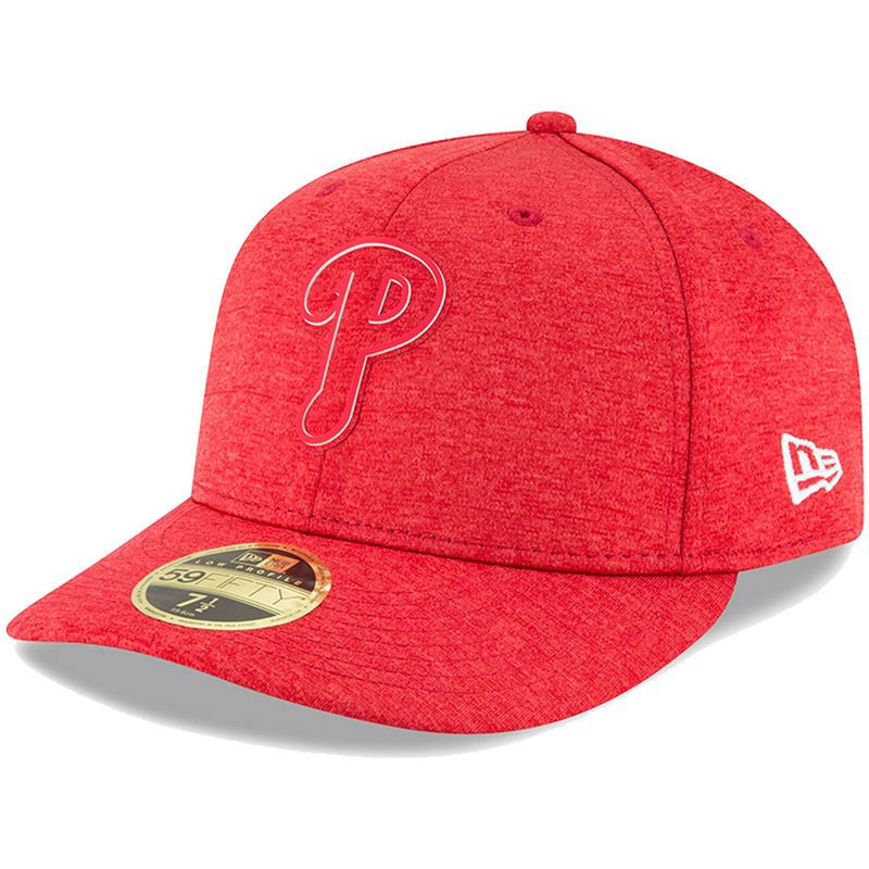 49bef220148   Men s Philadelphia Phillies American Needle Red Cooperstown Fitted Hat