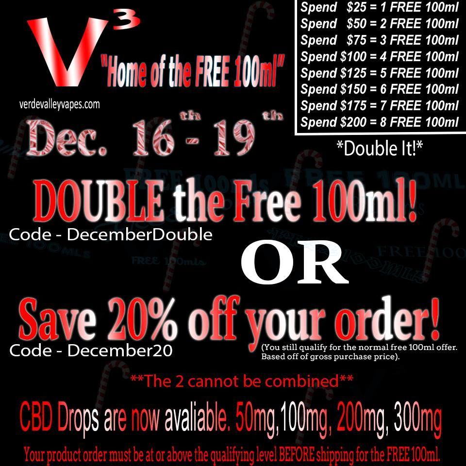 December 17 2016 4 Day Sale Saves You 20 Or Earn Double The Free